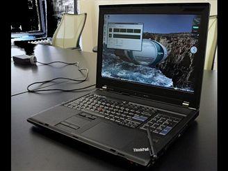 Lenovo ThinkPad W700 v plné palbě