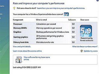 Lenovo ThinkPad W700 - Vista Experience