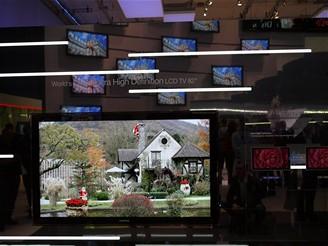 Samsung - IFA 2008 - největší LCD televize s rozlišením 3840 x 2160 pixelů