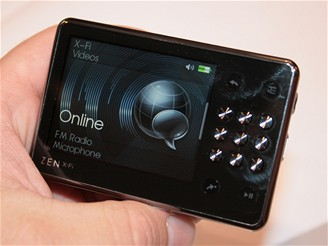 IFA 2008 - MP3 přehrávač Creative ZEN X-Fi