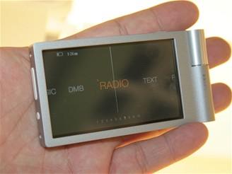 IFA 2008 - MP3 video přehrávač iriver Spinn