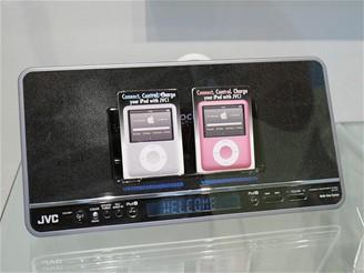 IFA 2008 - dokina pro iPod nano od JVC