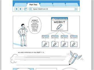 Google Chrome komiks