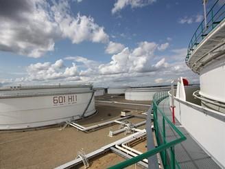 Nádrž H 11 o objemu 125 tis. metrů krychlových
