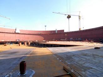 Výstavba nádrží