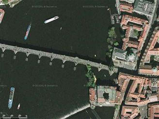 Ukázka snímku z mapy na Mapy.cz