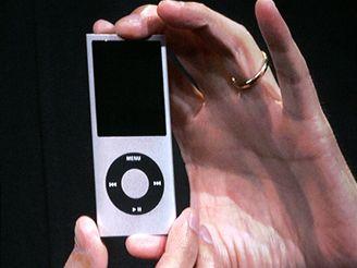 Nový přehrávače iPod nano