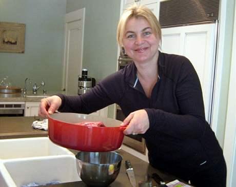 Pavlína Moskalyková na českou kuchyni nezanevřela