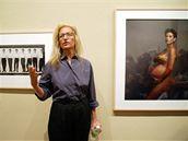 Annie Leibovitz se svým slavným snímkem těhotné Demi Mooreové