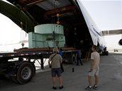 Do Kandaháru přepravila obří turbínu čínské výroby ruská dopravní letadla.