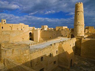 klášter Ribat, Monastir - Tunisko