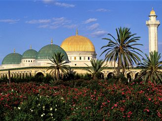 mauzoleum, Monastir - Tunisko