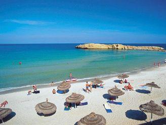 pobřeží, Monastir - Tunisko