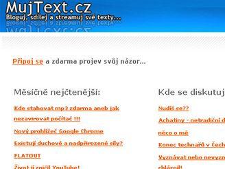 MůjText.cz