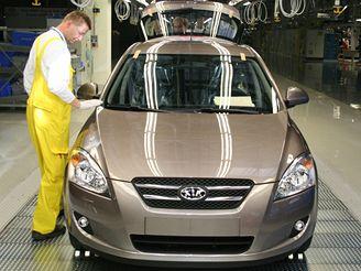Výroba aut - kontrola kvality