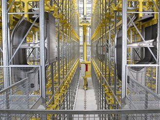 Výroba aut Automatický skladovací systém