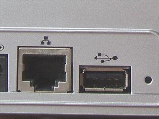 USB a Gigabitový ethernet
