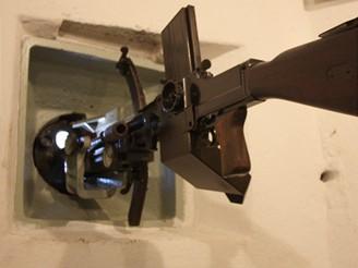 LK vz. 26 ráže 7,92 mm k ochraně vstupu do objektu