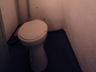 WC - vojáci ho směli používat pouze v době boje