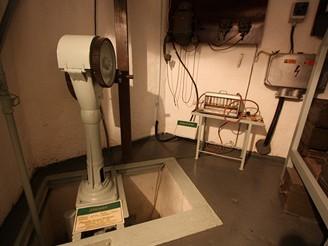 Čerpadlo studny a průkazník chemických látek