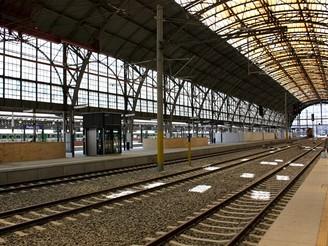 Hlavní nádraží - 3. a 4. nástupiště