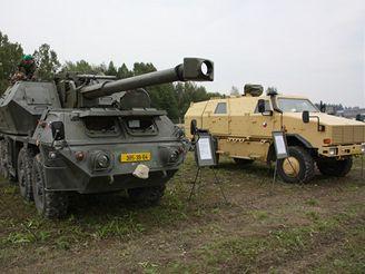 152 mm samohybná kanónová houfnice vz. 77 Dana a Dingo