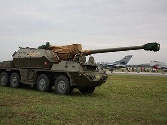 152 mm samohybná kanónová houfnice vz. 77 Dana