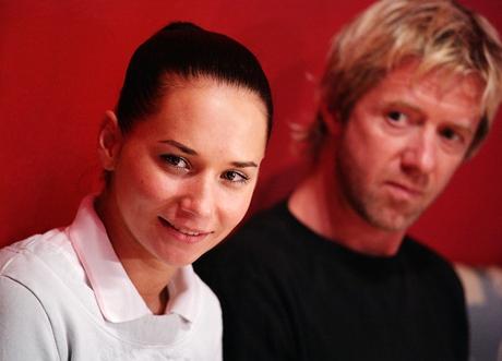 Herečka Sandra Nováková a Jiří Langmajer