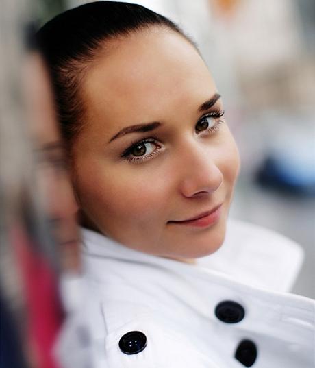 Herečka Sandra Nováková