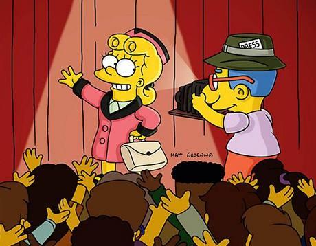 Simpsonovi - Lisa a Milhouse