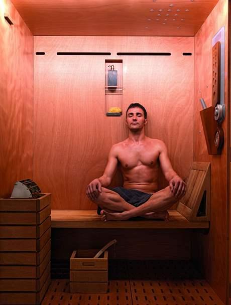 Sauna patří k oblíbené relaxaci bez ohledu na věk
