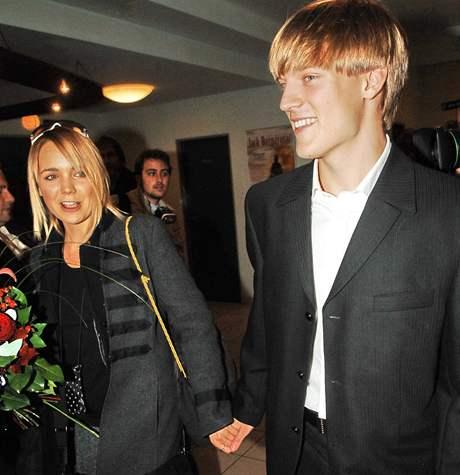 Lucie Vondráčková a Tomáš Verner