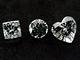 Diamanty vybroušené do různých tvarů