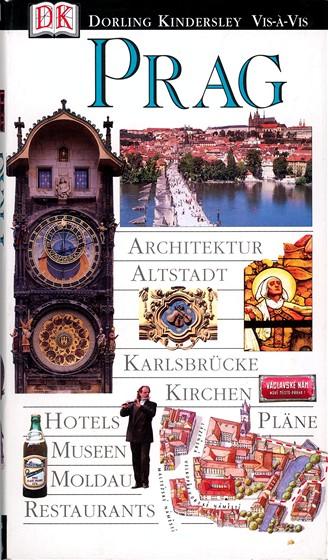 Turistický průvodce po Praze od nakladatelství Dorling & Kindersley