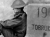 Čeští vojáci v africkém Tobruku