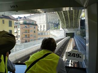 Pod existujícím mostem byl vytvořen druhý pro metro
