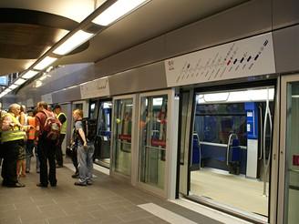 Stanice Lausanne CFF - vlakové nádraží
