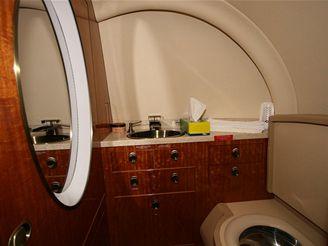 Osobní tryskáče: Hawker H900XP interiér
