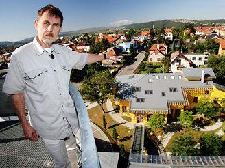 Architekt Milunić má rád nadhled - i rozhled