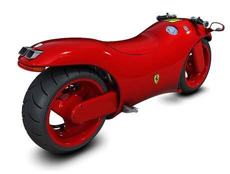 Motorka Ferrari