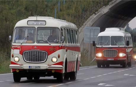 Legendární autobus Škoda 706 RTO.