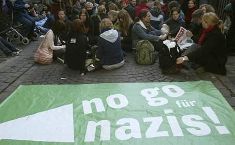 Protiextremistická demonstrace v Kolíně (20. září 2008)