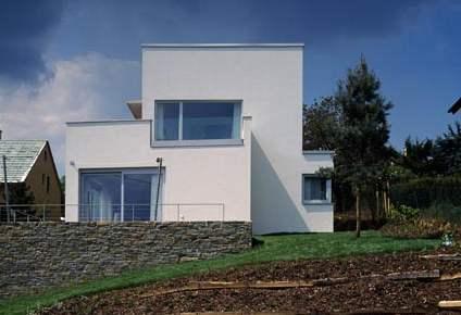 Tvar domu se podřídil pozemku