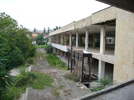 Bývalé kulturní středisko Zahražany v Mostě