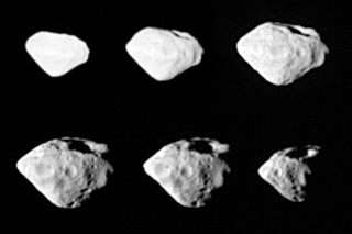 Planetka Steins ze sondy Rosetta