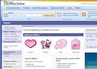 MS Office Online Klipart