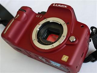 Lumix G1 - bez objektivu