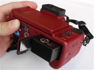 Lumix G1 - zespodu