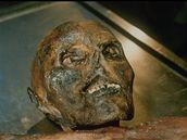 Mumie sněžného muže Ötziho byla při nálezu mimořádně zachovalá.