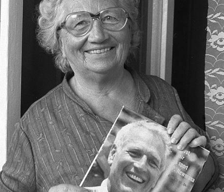 Anna Sedlárová - teta herce Paula Newmana